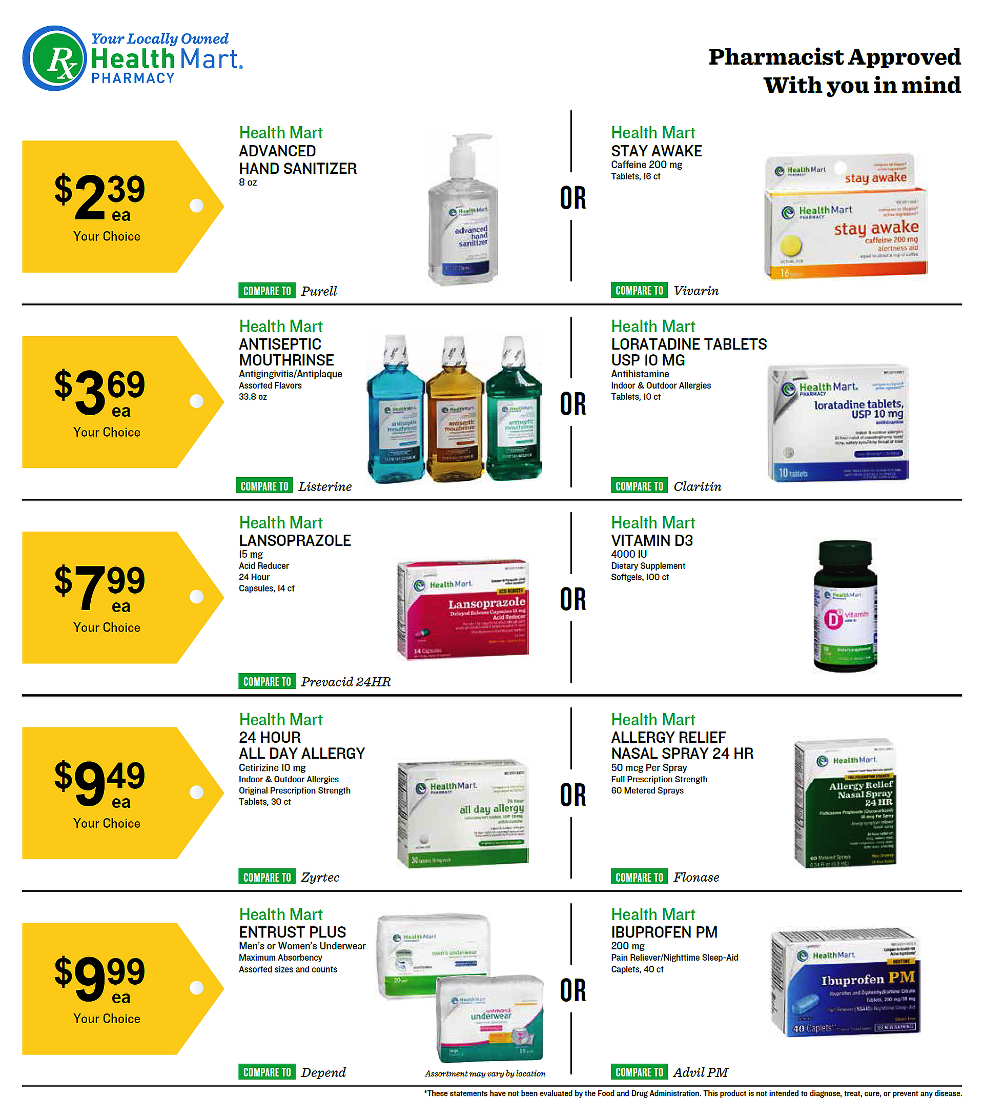 McKesson Savings August Sale Specials